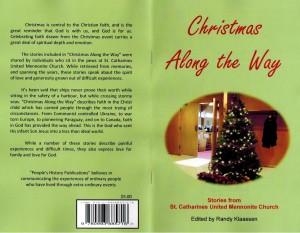 Christmas Along the Way - Cover